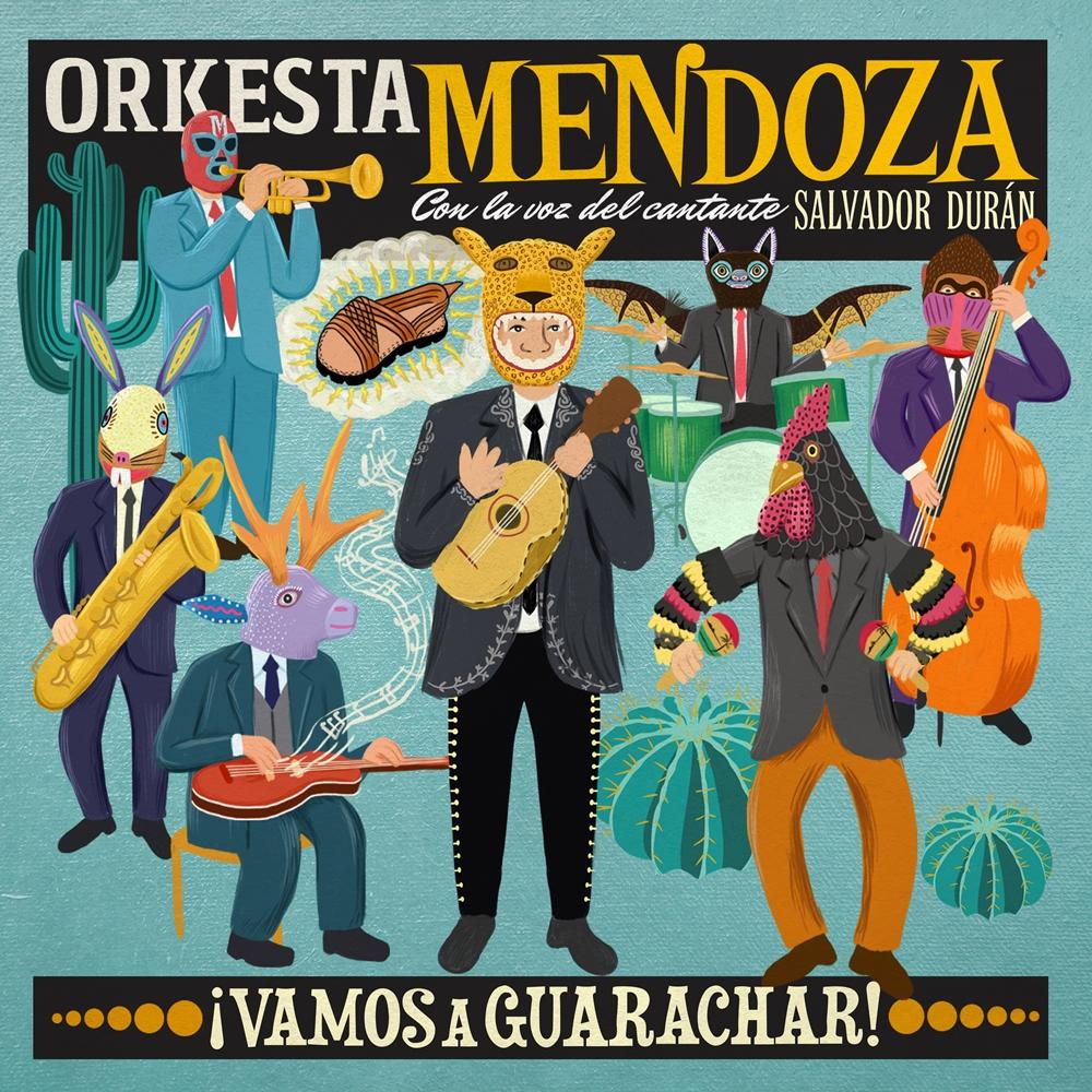 ' ' from the web at 'http://glitterbeat.com/wp-content/uploads/2014/05/Orkesta-Mendoza-¡Vamos-A-Guarachar-1000.jpg'